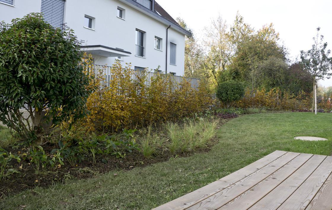 Auf dem Land – Ein Einfamilienhaus-Garten